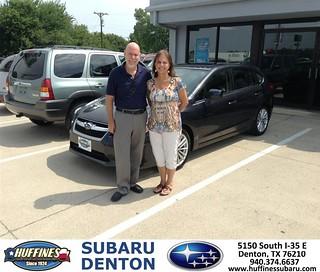 Thank You To Michael Maddox On The 2013 Subaru Impreza Wag