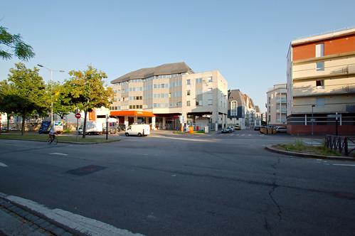 station essence total du boulevard de l europe station ess flickr. Black Bedroom Furniture Sets. Home Design Ideas
