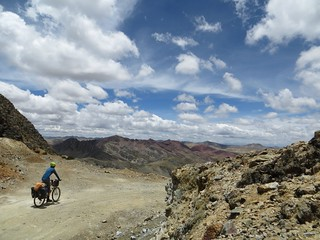 Beginning the descent from Punta Pumacocha | by Pikes On Bikes