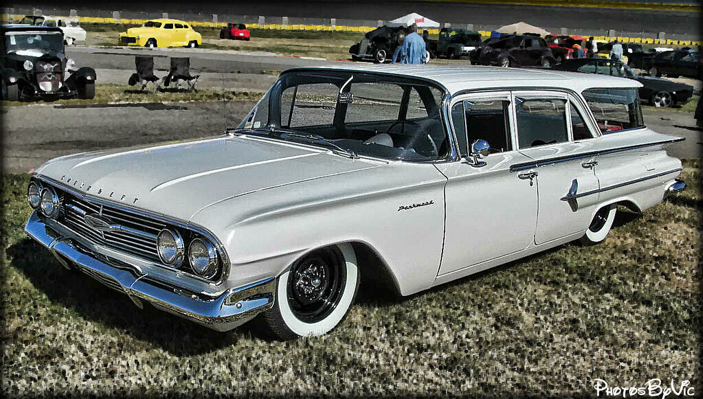 60 Chevy Parkwood Wagon Vic Montgomery Flickr