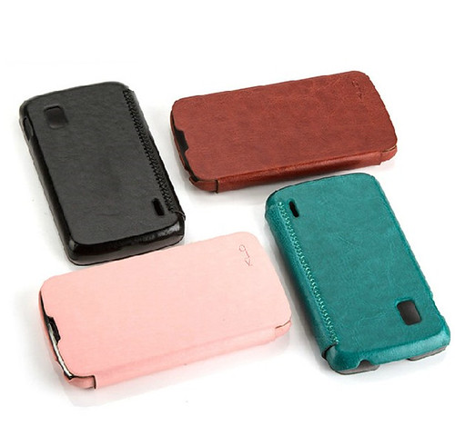 Leather Flip Cover For Iphone