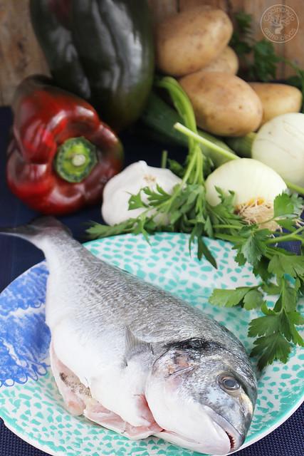 Dorada al horno www.cocinandoentreolivos.com (1)