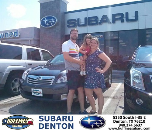 Thank You To Michelle Keefer On The 2012 Subaru Outback Fr