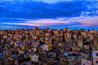 A classical View of Amman | by Mahmood Salam
