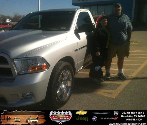Four Stars Auto Ranch >> Thank you to Diana'S Hall on your new truck from Hershel C… | Flickr