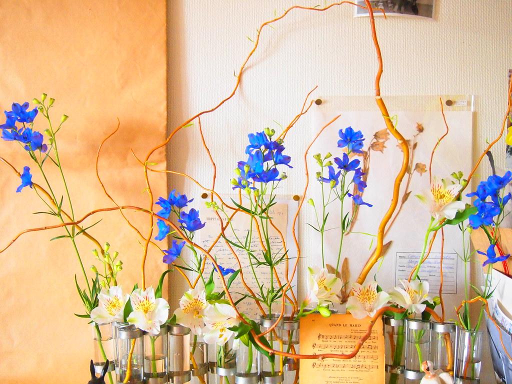 delphinium,tse tse,vase d\'avril,alstromeria | OLYMPUS DIGITA… | Flickr