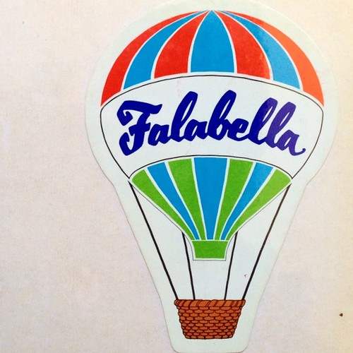 Falabella - stickers 80s