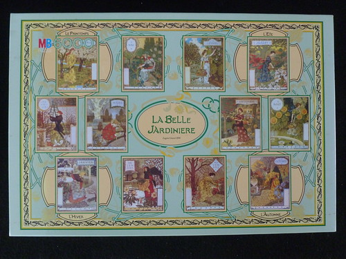 6000 piece puzzle la belle jardini re by eugene grasset. Black Bedroom Furniture Sets. Home Design Ideas