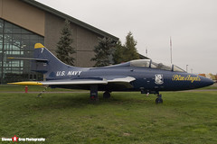 146417 7 - - US Navy Blue Angels - Grumman TF-9J Cougar - Evergreen Air and Space Museum - McMinnville, Oregon - 131026 - Steven Gray - IMG_9073