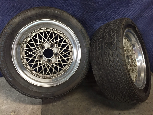 Volk Racing Mesh 16x7+14 16x7.5+8 5x114.3