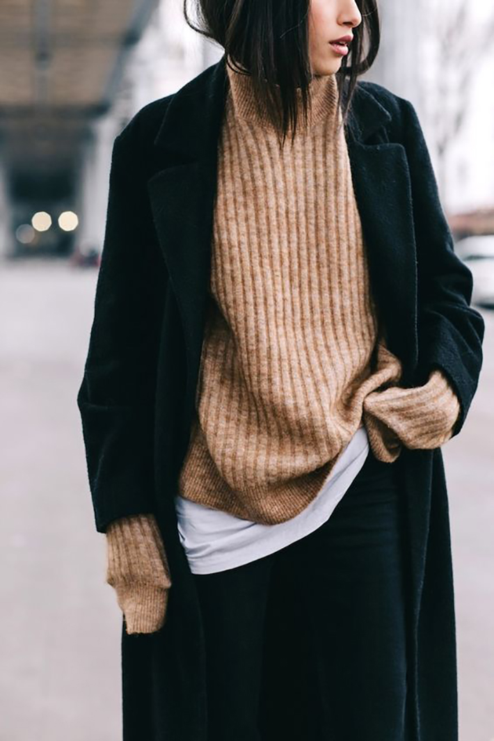 Autumn streetstyle coats sweaters rainy day outfit accessories style fashion trend3