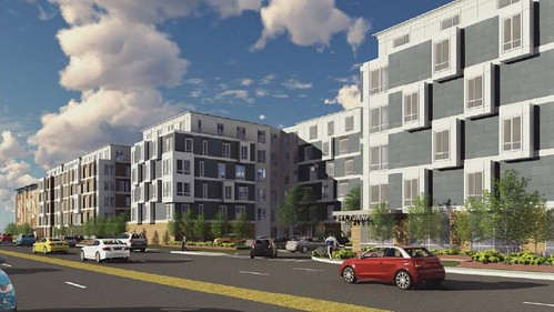 The Residences at Alewife Station Renderings
