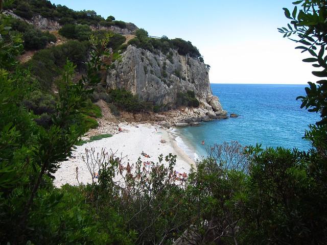 View of Cala Fuili