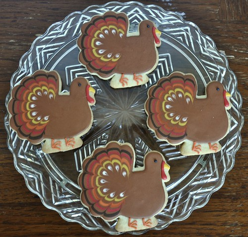 Thanksgiving Turkey Cookie | by kelleyhart