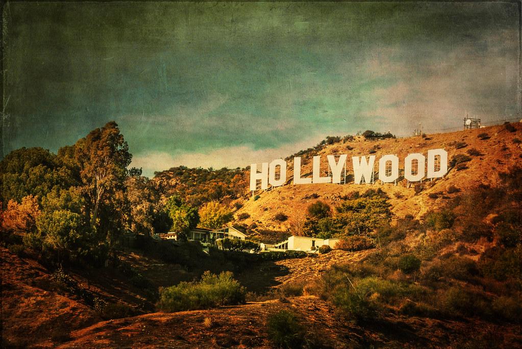 Hollywood Sign Vintage