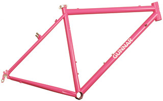Gunnar CrossHairs Custom in Pink Panther | by Gunnar Cycles