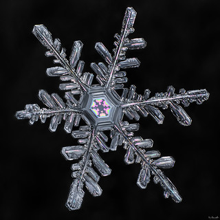 Snowflake: Vibrant Core | by Don Komarechka