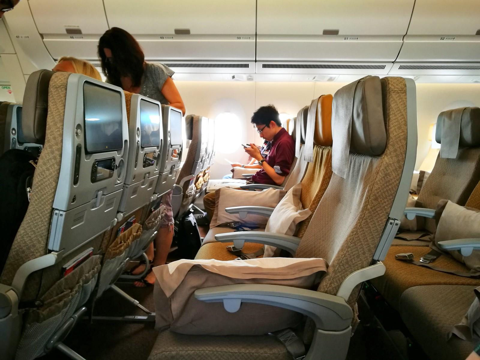 A350 Economy class cabin