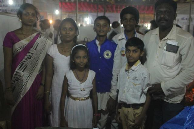 The Jadhav family
