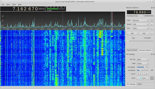 Gqrx on shortwaves with Funcube Dongle Pro+ | by csete