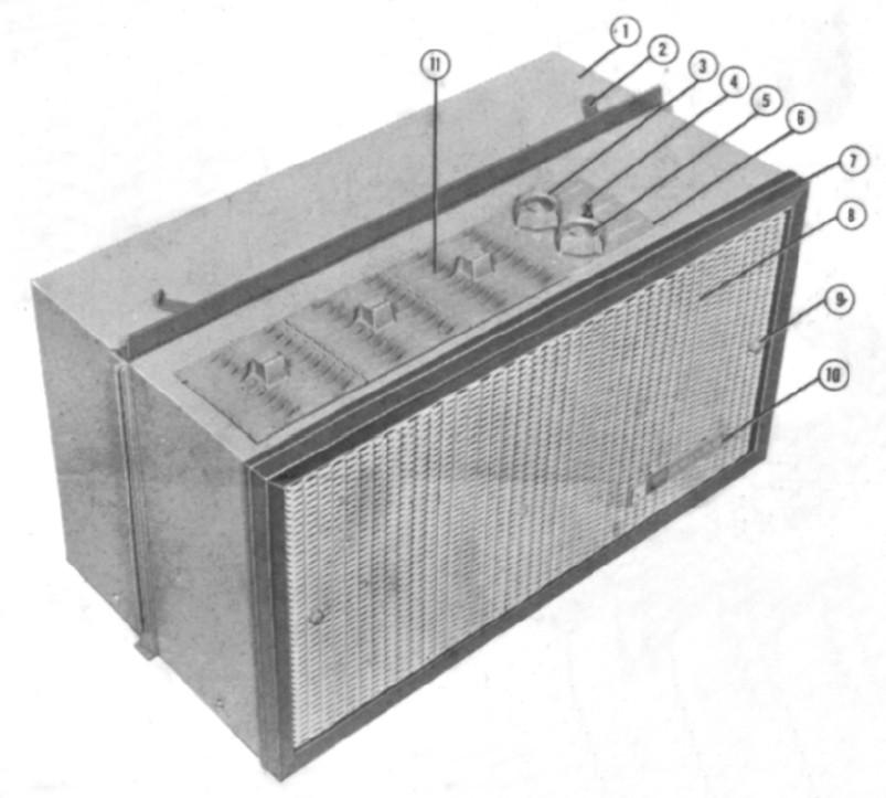 Sears Portable Air Conditioner >> Philco 1957 Portable Air Conditioner Sears Was The Only Ot