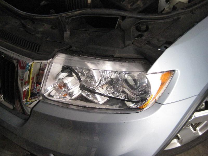 ... 2012 Jeep Grand Cherokee Headlight Housing   Changing Low Beam, High  Beam, Turn Signal
