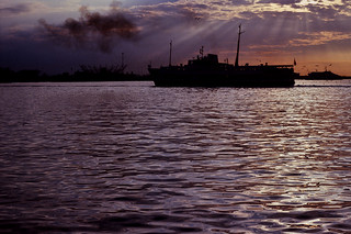 Ferry silhouette | by Stephen Dowling