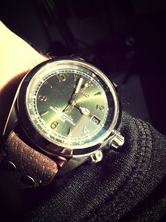 seiko alpinist, first shot. | by michael pollak