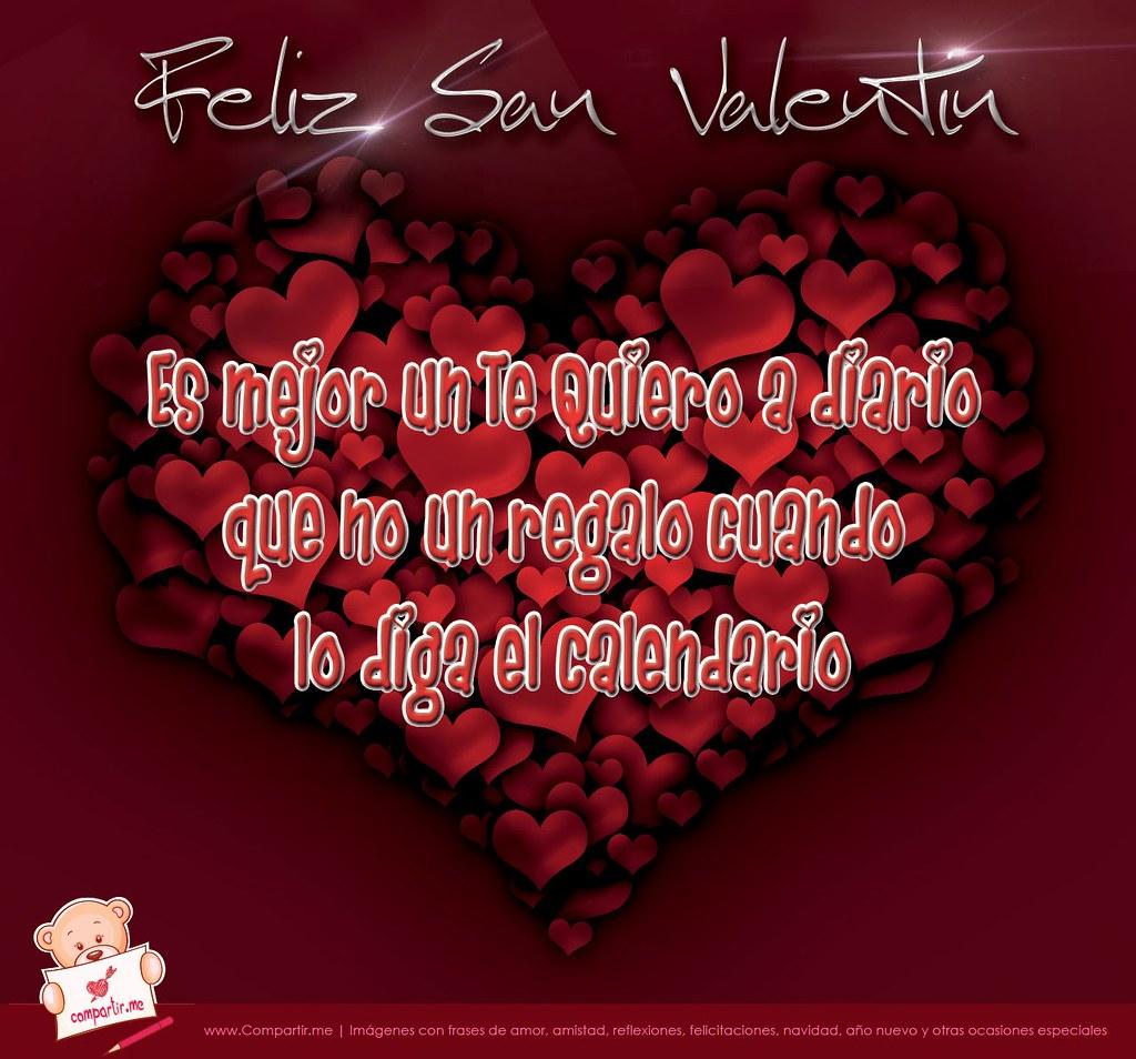 Frases De Amor Coleccion De 5 Imagenes Por El Dia De San Flickr