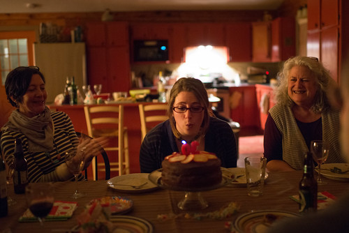 Tara Blowing out Birthday Candles | by goingslowly