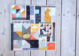 Schnitzel and Boo Mini Quilt Swap finish! | by jawkstudio