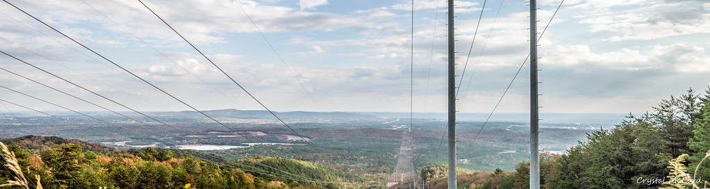 panorama view from the top of fouche gap crystal mccord flickr