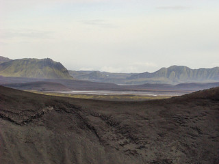032 Uitzicht bij Bláhylur of Hnausapollur
