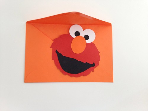Elmo Birthday Invitation | by CraftyGoat