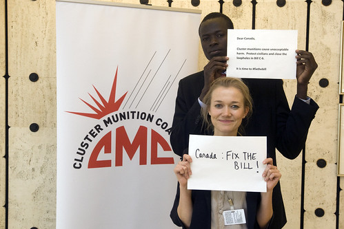 Geoffrey Duke (South Sudan) & Lucy Pinches (ICBL-CMC)© Giovanni Diffidenti-CMC | by Mines Action Canada