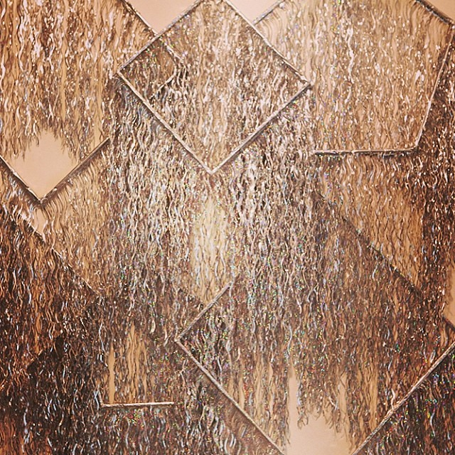 Geometric Metallic Fringe Check Out This Lovely Photo B Flickr