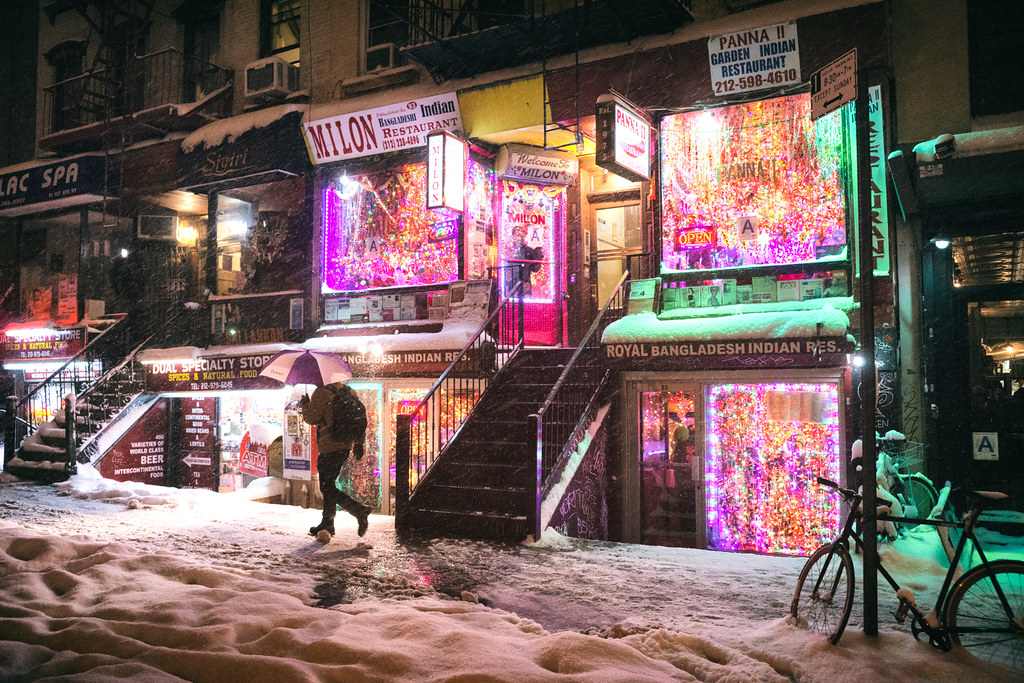 New York City Snow Janus East Village Restaurants Flickr