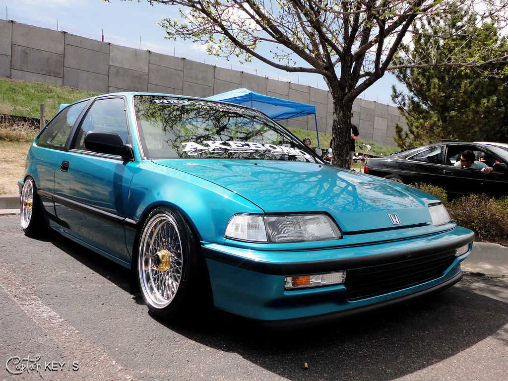 Slammed Ef Civic Greg Ziraldo Flickr