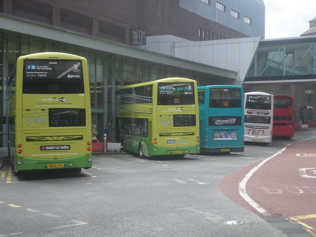 Gemini Takeover At Newcastle Eldon Square Bus Station By North East Malarkey