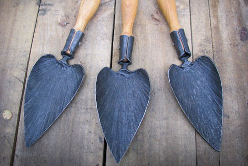 Newquist Metalsmith Trowels | by goingslowly
