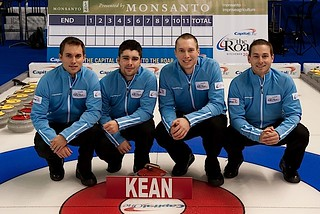 Team Kean — Annandale Golf and Curling Club, Ajax, Ont.Mark Kean, Travis Fanset, Patrick Janssen, Tim March, Colin Hodgson (alternate), Will Hamilton (coach) | by seasonofchampions
