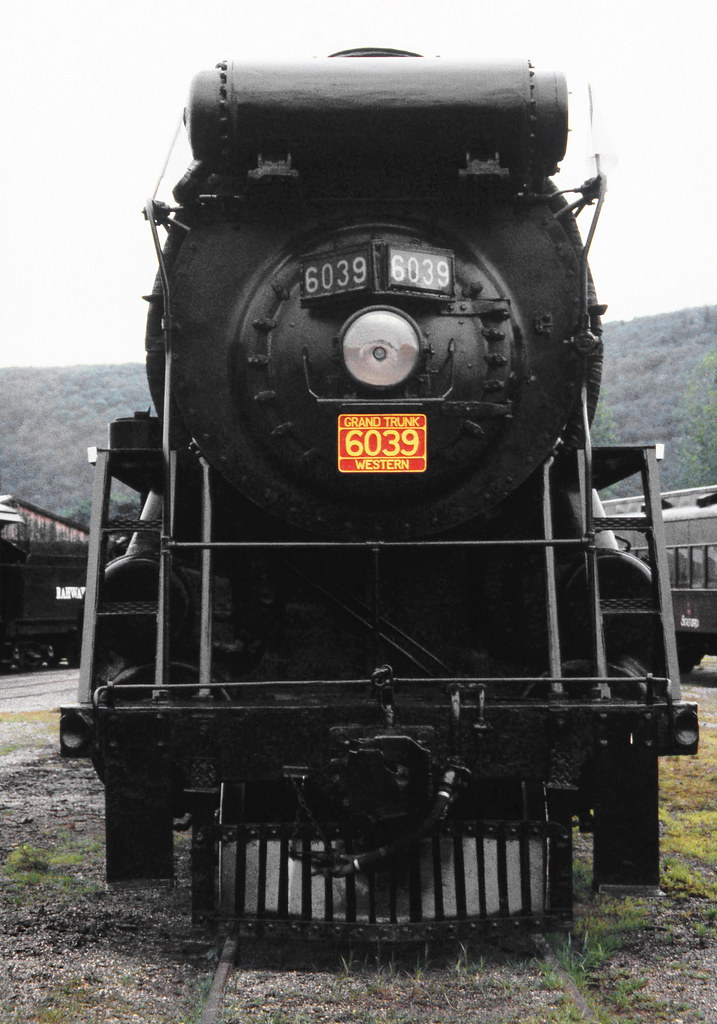 USA With A Boiler Front View Of Grand Trunk Western Railway 4 8
