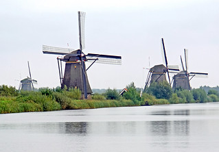 Netherlands-4721B - Ground Sail Windmills | by archer10 (Dennis) 105M Views