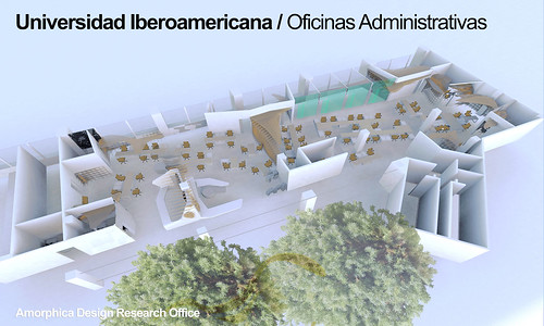 Amorphica Design Research Office - Universidad Iberoamericana - Administrative Offices | by Amorphica