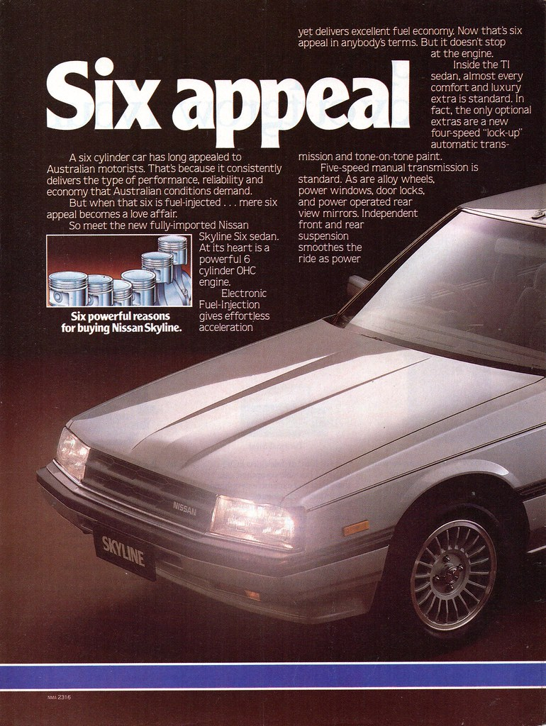 1985 nissan skyline r30 sedan page 1 aussie original magaz flickr rh flickr com R29 Skyline R31 Skyline