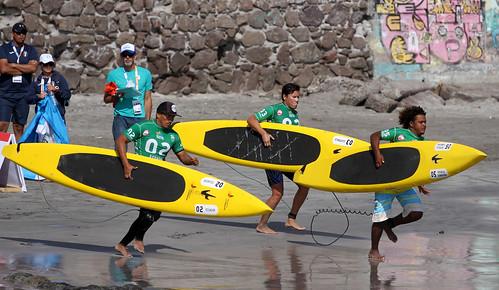 Surf en los Juegos Bolivarianos de playa, Iquique 2016