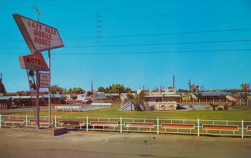 Lazy Daze Mobile Home Park and Motel - Phoenix, Arizona