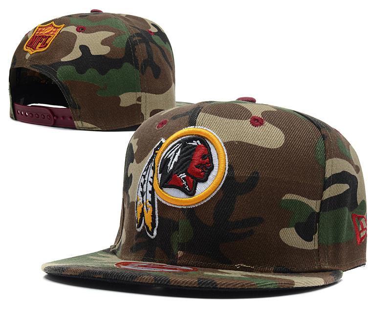 ... Washington Redskins Camo Hat Snapback New Era Caps Mens Adjustable NFL   c9017835e19