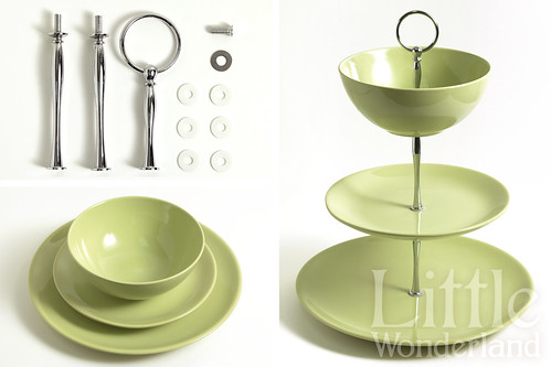 C mo hacer un cake stand how to make a cake stand flickr for Como disenar un stand