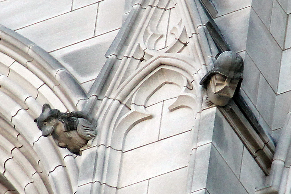 darth vader gargoyles washington national cathedral flickr
